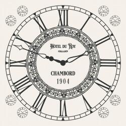 Transfert à sec - Horloge...