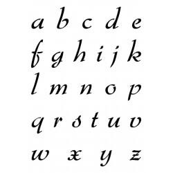 Pochoir Alphabet Camaëlle...